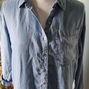 Forever 21 Tops - Super Soft Denim Shirt